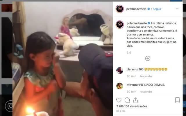 Com o orçamento apertado, pai compra pedaço de bolo para o aniversário da filha - Papo de Pai