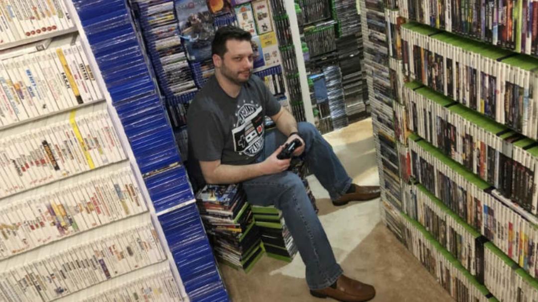 Conheça a maior coleção de games do mundo! Segundo o Guinness Book - Papo de Pai