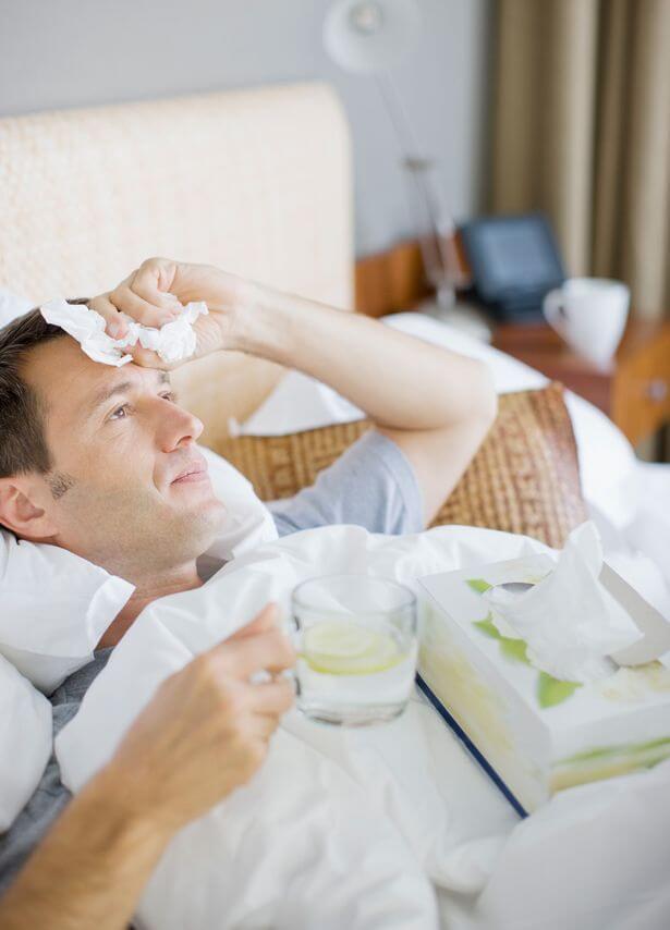Não é drama! Homens são mais atingidos pela gripe do que as mulheres - Papo de Pai