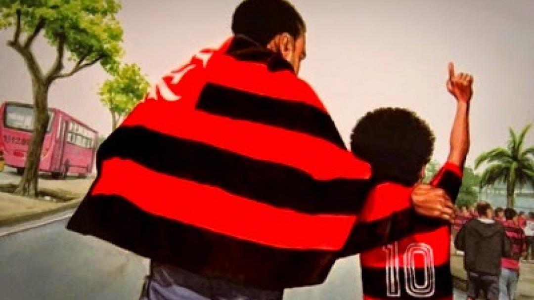 Tio vascaíno veste a camisa do Flamengo para torcer com sobrinho que perdeu o pai - Papo de Pai