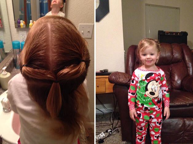 A história do Pai que foi a uma escola de beleza pra aprender a fazer penteados em sua filha