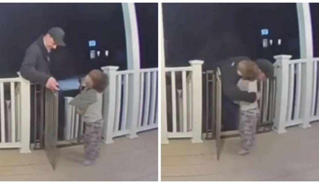 Menina surpreende entregador com abraço sem saber da morte da filha dele e vídeo viraliza - Papo de Pai