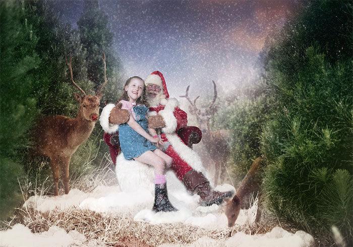 Fotógrafos organizam ensaio especial de Natal para crianças em hospitais, pois para alguns pode ser o último - Papo de Pai