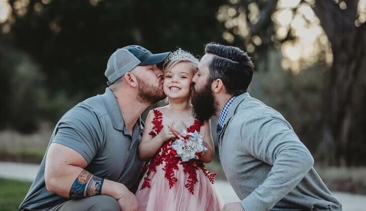 Pai e padrasto se tornam amigos para dar o melhor para a sua filha - Papo de Pai