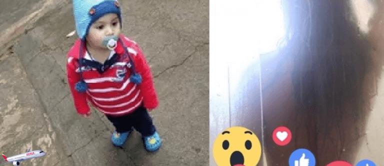 Menino de 2 anos faz transmissão ao vivo do banho da Mãe ao brincar com celular