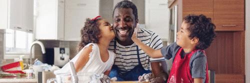 Que tal explorar uma paternidade mais ativa na alimentação dos filhos?