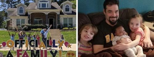 Casal adota 5 irmãos para impedir que fossem separados