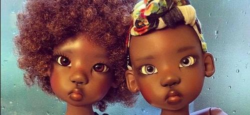 Pesquisa revela: Apenas 6% de todas as bonecas fabricadas no Brasil são negras